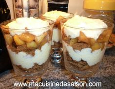 verrine pommes caramel speculoos more sweet verrines recipes my ...