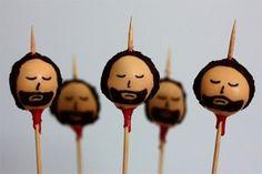 Ned Stark cake pops!!