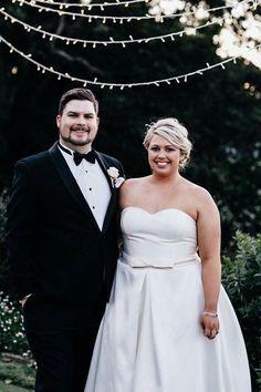 Peter Trends Real Bride Lucinda and husband David.