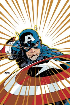 Captain America - Dave Johnson