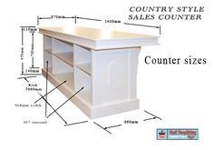vintage reception desk for hair salon | ... Country style counter » Country Style Shop and reception counters
