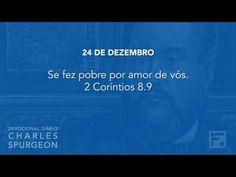Voltemos Ao Evangelho | 24 de dezembro – Devocional Diário CHARLES SPURGEON