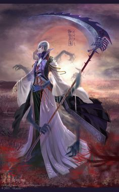 Izanami, the Japanese goddess of the underworld