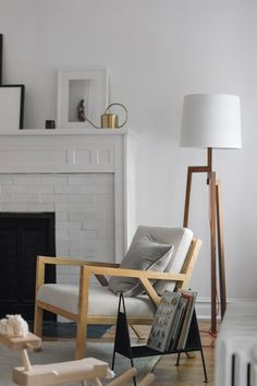 A Fireplace White as Snow | Installation Gallery | Fireclay Tile