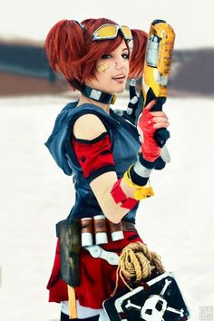 It's cool everybody, Gaige is here! Check out this awesome Gaige cosplay from Borderlands 2 and Russian cosplayer Amiko-chan. Cosplay Anime, Epic Cosplay, Cute Cosplay, Amazing Cosplay, Cosplay Outfits, Cosplay Girls, Female Cosplay, Borderlands Cosplay, Borderlands Series