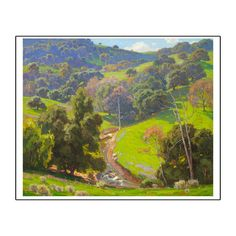 LACMA Store - William Wendt: 'The Mantle of Spring' Print
