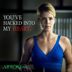 Happy Valentine's Day from Felicity Smoak #Arrow!