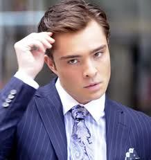 Chuck Bass! What's not to love?  And, yes I know he's not real but Chuck Bass is the Gossip Girl character you know you love to hate.