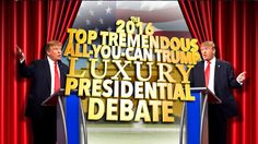 Since Donald Trump dropped out of Fox News' final GOP debate, Stephen decided to hold the classiest, Trumpiest debate of all time.