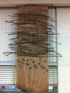 Kids' weavings