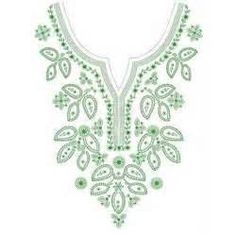 Hand Embroidery Designs For Kurtis Neck  Hand Embroidery