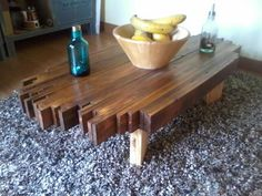 chic pallet coffee table