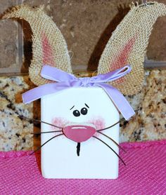 Mama's Crafts: 2x4 Bunnies...