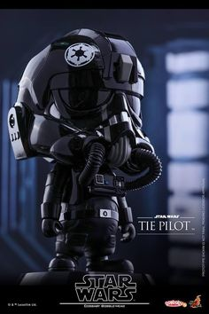 Hot Toys - COSB308 - Star Wars - TIE Pilot Cosbaby Bobble-Head