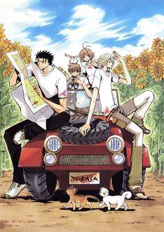 KuroFai (Kurogane x Fai) from Tsubasa Reservoir Chronicle (and now Tsubasa World Chronicle the sequel)
