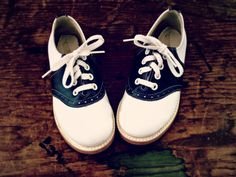 Vintage Saddle Shoes by CopperheadVintage on Etsy ...... wore these every day to school back in the day 1959 forward
