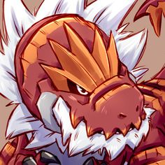 day 3 - favorite dragon type - Tyrantrum Game Freak finally FINALLY gave us a t-rex pokemon and it's RAD AS HELL. Dragon Type Pokemon, Pokemon Fan Art, All Pokemon, Cute Pokemon, Tyrantrum Pokemon, Equipe Pokemon, Dragon Images, Pokemon Pictures, Anime