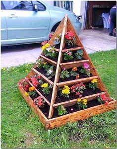 wood pallet planter plan