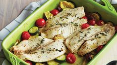 Roast Fish & Mediterranean-Inspired Vegetables - Sobeys Inc. Dairy Free Recipes, Healthy Recipes, Couscous How To Cook, Roast Fish, 200 Calorie Meals, Vegan Keto Diet, Seafood Dinner, Mediterranean Recipes, Mediterranean Style