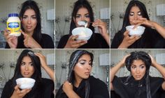 YouTube star Farah Dhukai encourages her followers to rub full fat mayonnaise into their hair and leaving it in for 30 minutes in a new clip.