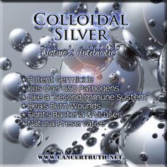 "Colloidal Silver - Best out there is called ""Sovereign Silver"". A homeopathic doctor friend recommends taking this like CRAZY. From immune boosting to antibiotic alternative and more."