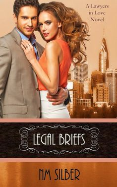 Legal Briefs (Lawyers in Love) by N.M. Silber young Jewish attorneys finding love amidst romance novel writing and mafia hitmen -- loved the practicing Jewish main characters!