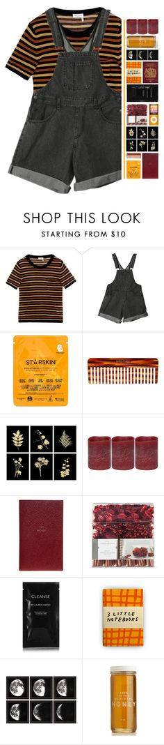 """Tuesday."" by pineapples-2 ❤ liked on Polyvore featuring Sonia Rykiel, Starskin, Mason Pearson, Energizer, Smythson, Threshold, Cleanse by Lauren Napier and Plumb Notebooks"