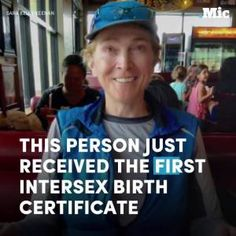 This person just received the first intersex birth certificate. #news #alternativenews