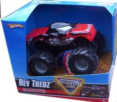 2009 Hot Wheels Monster Jam ARACHNAPHOBIA Rev Tredz Official Monster Truck Series 1:43 Scale by Mattel. $14.98. Rev'em and Race'em. 1:43 Scale. Realistic Reving Sound. Official Monster Jam Truck. Spinning Wheels. Crush the Competition with this 1:43 scale Hot Wheels truck! Let the dirt fly with these ground-poundin Hot Wheels Monster Trucks. Rev up for total domination and destruction on the Monster Jam circuit. It's unstoppable, in-your face Monster Jam madness! Wit...