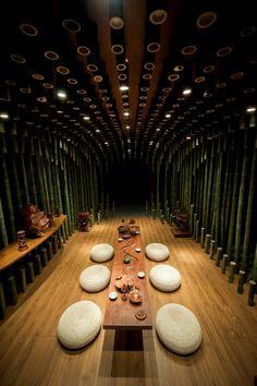 Lotus & Bamboo Tea Room: dedicated to meditation and spiritual search