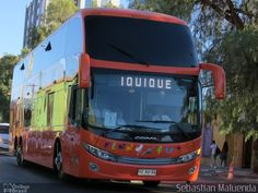 Ônibus da empresa Kenny Bus, carro HZXV-34, carroceria Comil Campione Invictus DD, chassi Volvo B420R. Foto na cidade de - por Sebastian Maluenda, publicada em 03/09/2017 14:58:24.