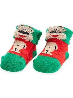 Paire de chaussettes Noël