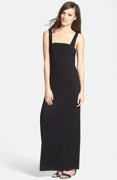 June & Hudson Maxi Dress & Bandeau available at #Nordstrom