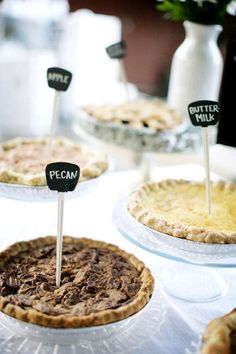 These look so tasty! Perfect for a backyard wedding!