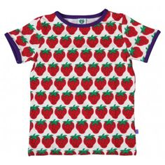 smafolk strawberries t-shirt