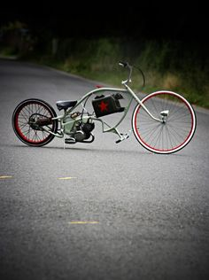 BLACKBIRD # Custom Bikes Motorised