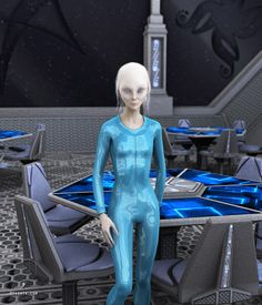 Connection of Jason Firth Notes: Initially I thought she was YahYel, but when I started working on her some Sassani traits started emerging. I am not sure about her specific Aliens And Ufos, Ancient Aliens, Nordic Aliens, Cosmos, Science Fiction, Alien Aesthetic, Grey Alien, Alien Girl, Ancient Egyptian Art