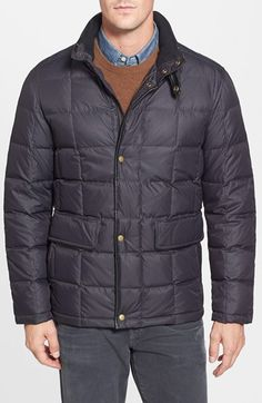 Cole Haan Box Quilt Down Jacket available at #Nordstrom