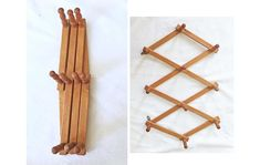 Excited to share this item from my shop: Vintage Old Fashion Wood Accordion Wall Coat Rack Hat Holder Expandable Folding Rustic Cabin Victoria 10 Hook Peg Vertical Horizontal Decor Wall Hat Racks, Diy Hat Rack, Wood Hooks, Wood Rack, Farmhouse Design, Country Farmhouse, Country Charm, Hat Holder, Rustic Home Interiors