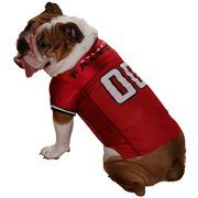 3499180c1 Atlanta Falcons Bulldog Jersey Red Mesh Pet Football Jersey #NFL  #NFLDogProducts #NFLPetProducts #