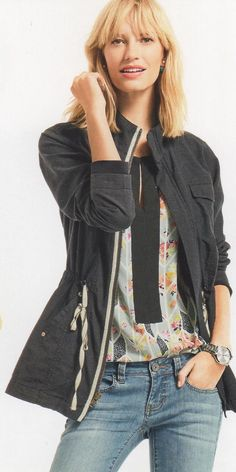 I can't wait for this spring CAbi jacket! CAbi Spring 2015