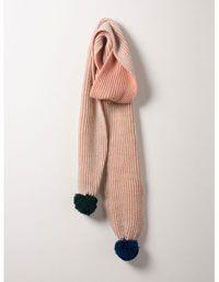 Bobo Choses - Roze-gele gestreepte sjaal