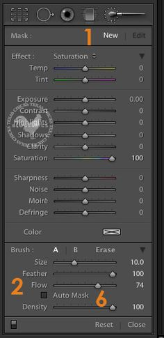 Photographyzzz - LightRoom... Lightroom's Adjustment Brush – The Top 10 Most Helpful Features #lightroom | #LR #adjustment #magic #brush #howto #tips #tutorial #features