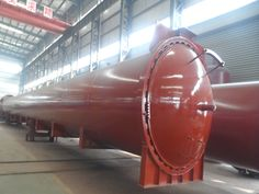Wood Rubber Food Vulcanizing Autoclave Equipment φ2m For Automotive