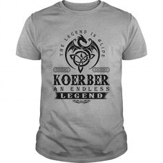 I Love  KOERBER AN ENDLESS LEGEND T-SHIRT T shirts