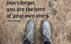 Boyle quote: Don't forget…