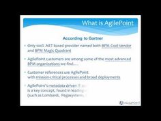 Achieve Process Maturity Introduction - SharePoint Process Excellence. #AgilePoint #SharePoint #BPM