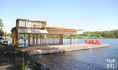 Lake Muskoka Boathouse by Turkel Design