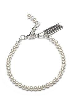 Prachtige klassieke parel armband van #Abrazi Bracelets, Silver, Wedding, Jewelry, Wristlets, Bangles, Mariage, Jewellery Making, Money