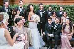 Hollywood Roosevelt Hotel Wedding : Ferrah and Ali - Jasmine Star Blog